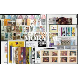 [20] 2002 Spain  Year Set Complete **MNH LUXURY   + 15 Sheets + 2 Booklet Stamps in Perfect Condition. LUXE ()