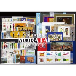 [20] 2009 Spain Year Set Complete **MNH LUXURY   + 11 Sheets + 1 Booklet Stamps in Perfect Condition. LUXE