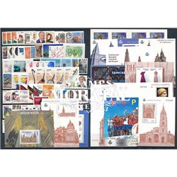 [20] 2012 Spain Year Set Complete **MNH LUXURY   + 14 Sheets + 1 Booklet Stamps in Perfect Condition. LUXE
