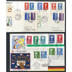 [05] 1958  FDC EUROPE Very Nice