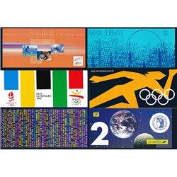 [04]  France Lot 5 Philatelic Folders