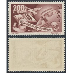 [10] 1950 Saar / Sarre C12 Book, Earth  ** MNH Very Nice Stamps in Perfect Condition. (Scott)