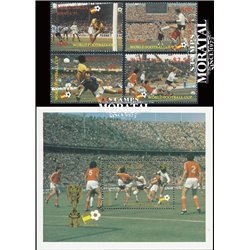 [10] 1982 St. Lucia 578/582 Soccer. FIFA World Cup  ** MNH Very Nice Stamps in Perfect Condition. (Scott)