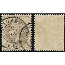 1863 Francia Yv 27  (o) Usado, Buen Estado. Napoleon III Laureado 4c. (Edifil)