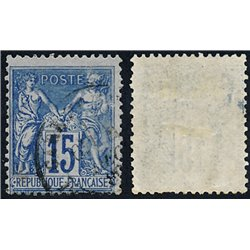 1892 France  Sc# 103  (o) Used, Nice. Sage 15c. (Scott)