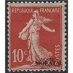 1906 France  Sc# 155  * MH Nice. Sower Ground (Scott)