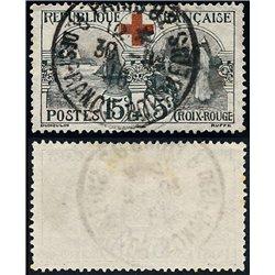 1918 Frankreich Mi# 136  (o) Gebrauchte, Zustand. Rotes Kreuz (Michel)  Rotes Kreuz