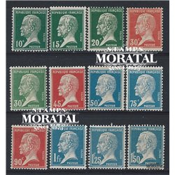 1923 Frankreich Mi# 153/58, 192/97  ** Perfekter Zustand. Louis Pasteur (Michel)  Madizin