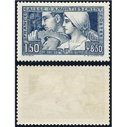 1928 Frankreich Mi# 229  ** Perfekter Zustand. Staatsschuldentilgungskasse (Michel)