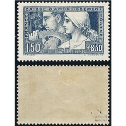1928 France  Sc# B27  * MH Nice. Sinking Fund Issues (Scott)