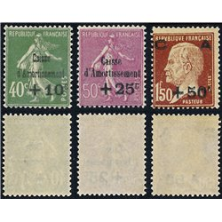 1929 France  Sc# B31/B33  ** MNH Very Nice. Sinking Fund Issues (Scott)