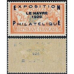 1929 Frankreich Mi# 239  ** Perfekter Zustand. Ausstellung Le Havre 1929 (Michel)  Ausstellung