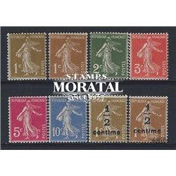 1932 France  Sc# 156/158, 161, 164, P8  ** MNH Very Nice. Semeuse (Scott)