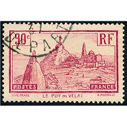 1933 France  Sc# 290  (o) Used, Nice. Le Puy en Velay (Scott)