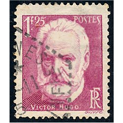 1935 France  Sc# 303  (o) Used, Nice. Victor Hugo (Scott)  Personalities