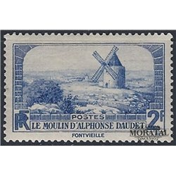 1936 France  Sc# 307  ** MNH Very Nice. Lettres de Mon Moulin (Scott)  Tourism