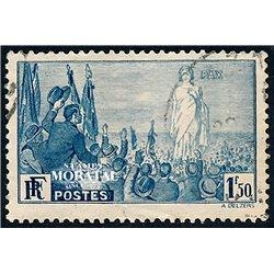 1936 France  Sc# 321  (o) Used, Nice. Peace (Scott)