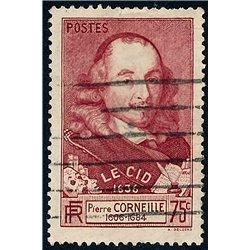 """1937 Frankreich Mi# 341  (o) Gebrauchte, Zustand. """"Le Cid"""" Pierre Corneille (Michel)"""