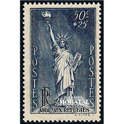 1937 France  Sc# B44  * MH Nice. Political Refugees (Scott)