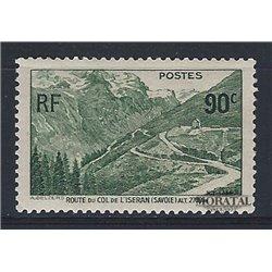 1937 Frankreich Mi# 372  ** Perfekter Zustand. Col de L'Iseran (Michel)