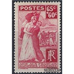 1938 France  Sc# B75  * MH Nice. French Repatriated (Scott)