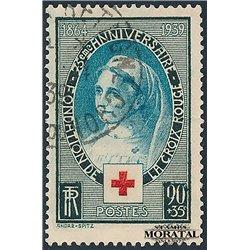 1938 France  Sc# B11  (o) Used, Nice. Red Cross (Scott)  Red Cross