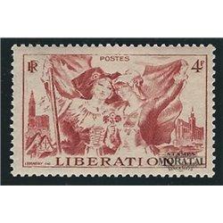 1945 Frankreich Mi# 732  * Falz Guter Zustand. Elsa-Lothringen (Michel)  Tourismus