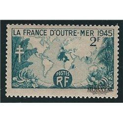 1945 Frankreich Mi# 743  * Falz Guter Zustand. Das Uberseeische Frankreich (Michel)