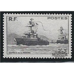 1946 Frankreich Mi# 740  * Falz Guter Zustand. Hilfswerk für Opfer Marine (Michel)