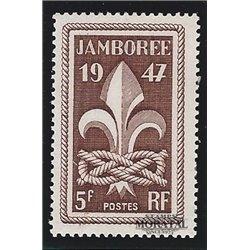 1947 France  Sc# 587  (*) MNG Nice. 6th World Boy Scout (Scott)