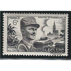1948 Frankreich Mi# 826  * Falz Guter Zustand. Leclerc Hautecloque (Michel)