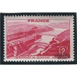 1948 France  Sc# 607  * MH Nice. Génissiat Dam (Scott)