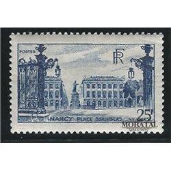 1948 Frankreich Mi# 762  * Falz Guter Zustand. Stanlslaus-Platz (Michel)  Persönlichkeiten