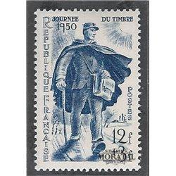 1950 Frankreich Mi# 881  * Falz Guter Zustand. Tag der Briefmarke (Michel)