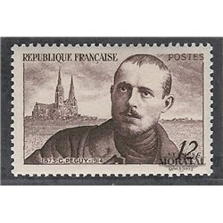 1950 France  Sc# 638  ** MNH Very Nice. Charles Péguy (Scott)  Personalities