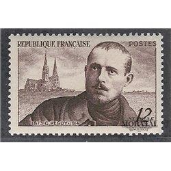 1950 Frankreich Mi# 883  * Falz Guter Zustand. Charles Péguy (Michel)  Persönlichkeiten