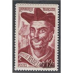 1950 Frankreich Mi# 884  * Falz Guter Zustand. François Rabelais (Michel)  Persönlichkeiten