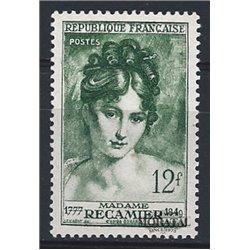 1950 France  Sc# 641  * MH Nice. Madame Récanier (Scott)