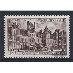 1951 Frankreich Mi# 896  ** Perfekter Zustand. Chateau Fontaineblau (Michel)  Schlösser