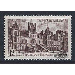 1951 Frankreich Mi# 896  (*) Ungummiert, Guter Zustand. Chateau Fontaineblau (Michel)  Schlösser