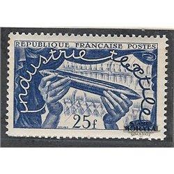 1951 Frankreich Mi# 899  ** Perfekter Zustand. lntemationale Textilausstellung (Michel)  Ausstellung