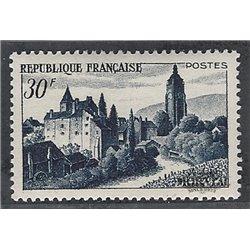 1951 France  Sc# 658  * MH Nice. Chateau Arbois (Scott)  Tourism