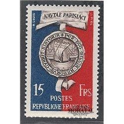 1951 France  Sc# 664  (*) MNG Nice. Paris (Scott)  Tourism