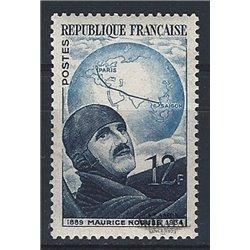 1951 France  Sc# 665  * MH Nice. Maurice Noguès (Scott)  Personalities