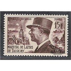 1952 France  Sc# 675  ** MNH Very Nice. Lattre de Tassingy (Scott)