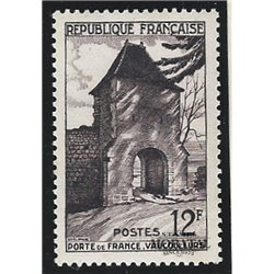 1952 France  Sc# 676  * MH Nice. Gate of France (Scott)  Tourism