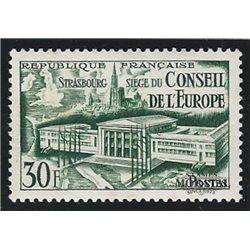 1952 Frankreich Mi# 942  * Falz Guter Zustand. Tagung des Europarates (Michel)