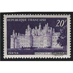 1952 France  Sc# 678  * MH Nice. Châteaux de Chambord (Scott)  Castles