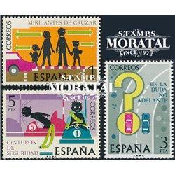 1976 Spanien 2205/2207  Sicherheit  Autos ** Perfekter Zustand  (Michel)