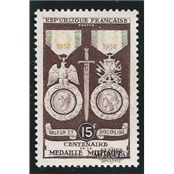 1952 Frankreich Mi# 945  * Falz Guter Zustand. Militär Medaille (Michel)
